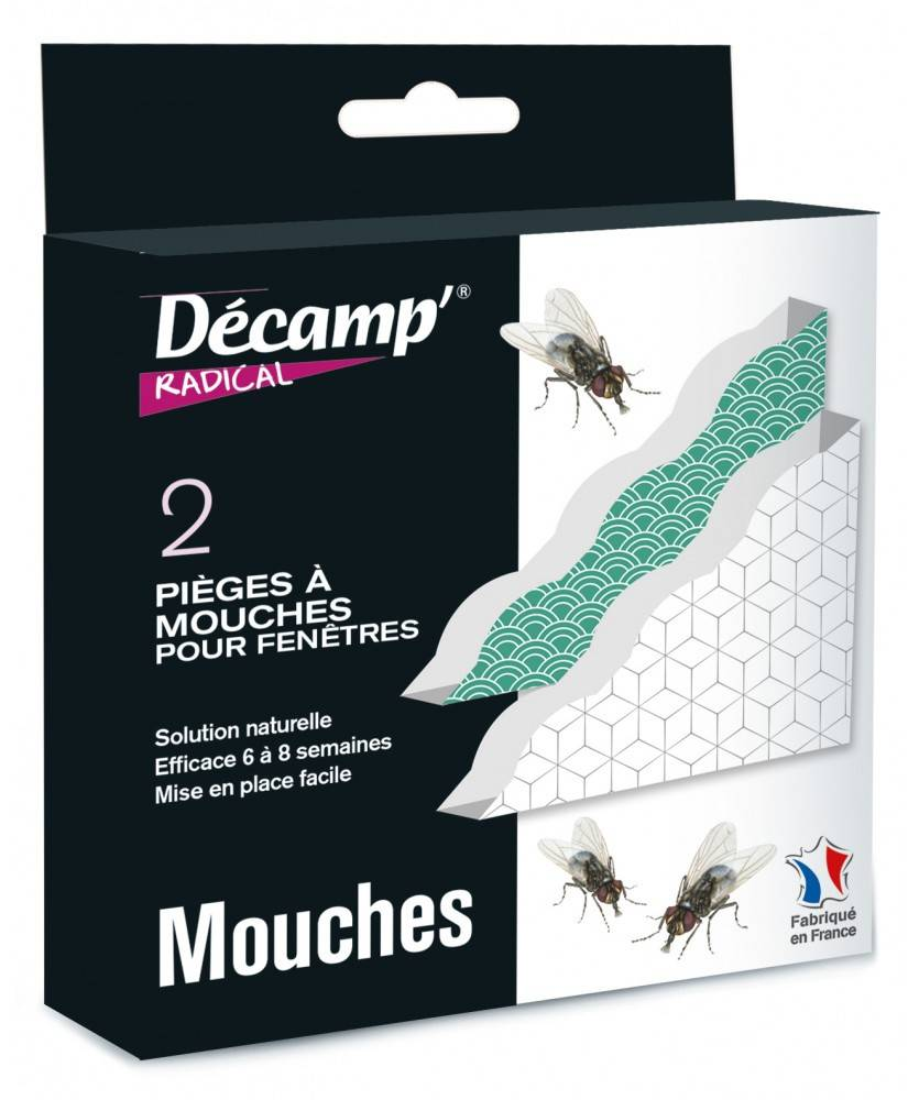 Décamp' Piège à mouches de maison