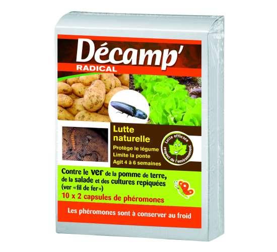 Décamp' Phéromone ver pomme de terre / cultures repiquées Conditionnement - Boite de 20 capsules