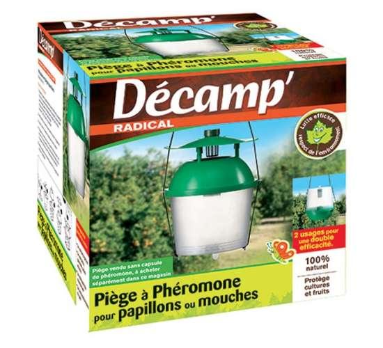Décamp' Piège à phéromones pour papillons et mouches Conditionnement - 1 piège en boite