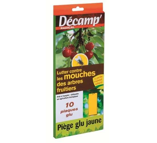 Décamp' Piège à glu Mouches des fruits