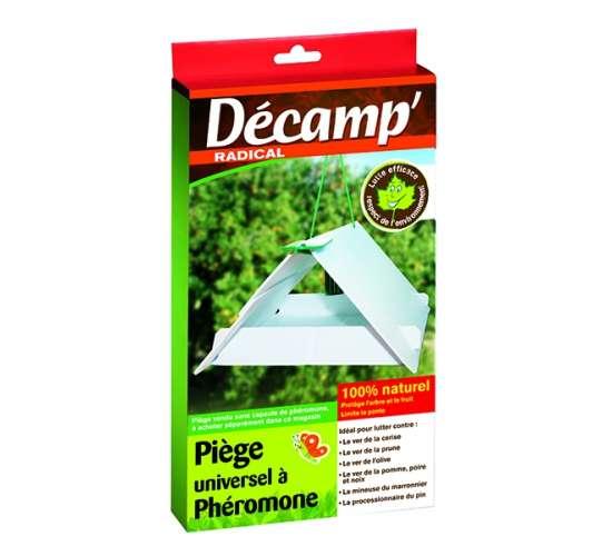 Décamp' Piège à phéromones universel (arbres et arbustes) Conditionnement - 6 pièges en vrac