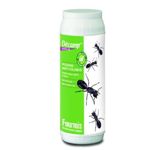 Décamp' Poudre anti-fourmis et insectes rampants