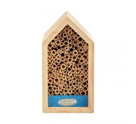 Wild On Wildlife Hotel à abeilles solitaires Couleur - Bleu