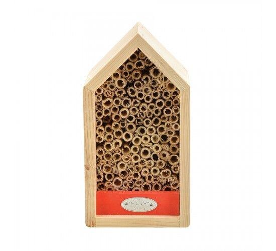 Wild On Wildlife Hotel à abeilles solitaires Couleur - Rouge