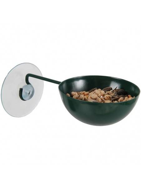 Best for birds Coupe mangeoire à ventouse pour oiseaux