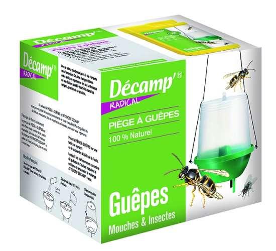 Décamp' Piège à guêpes, mouches et moustiques