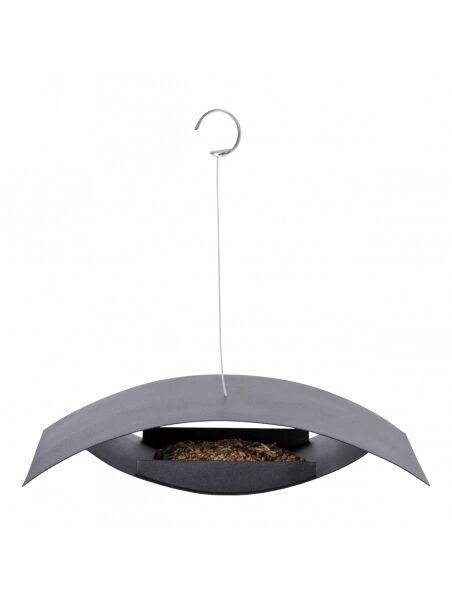 Best for birds Mangeoire à suspendre noire S