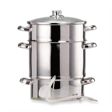 Extracteur de jus à vapeur en inox 26 cm 342635