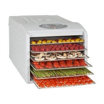 Kitchen Chef Professional Déshydrateur programmable 6 plateaux inox 500 W KYS-333B Kitchen Chef Professional