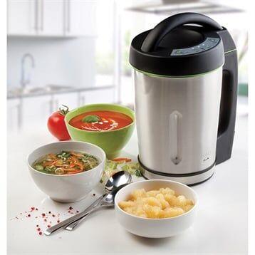 Domo Mixeur à soupe Soup Maker 1,6 L 1000 W DO498BL Domo