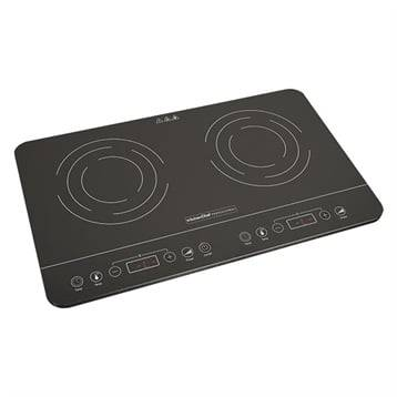 Kitchen Chef Professional Plaques à induction ultra fine 2 foyers 3500 W KCYL35-DC06 Kitchen Chef Professional