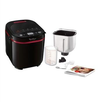 Moulinex Machine à pain 720 W 17 programmes coloris noir et pourpre OW220830 Moulinex