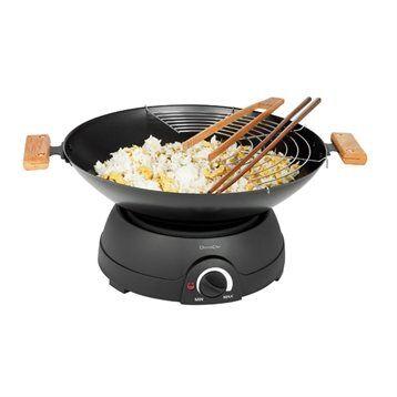 Livoo Set Wok et fondue électrique 1600 W DOM194 Livoo
