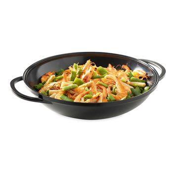 Mathon Grand wok anti-adhésif Saveur Plus 36 cm Mathon