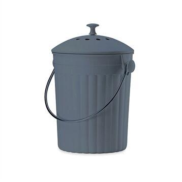 Seau à compost avec filtres à charbon