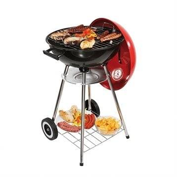 Barbecue à charbon rouge 41 cm