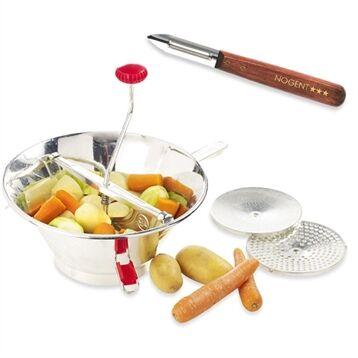 Guillouard Moulin à fruits et à légumes pro en inox et éplucheur OFFERT Guillouard