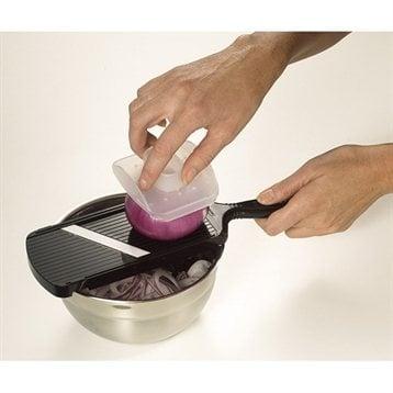 Kyocera Mandoline réglable avec protège doigts noir Kyocera