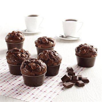 Gobel 6 moules à muffin individuels Gobel