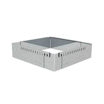 De Buyer Cadre entremets carré adaptable inox 20 cm De Buyer