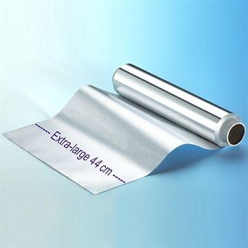Rouleau de papier aluminium extra-large 200 m x 44 cm