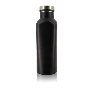 Ogo Bouteille isotherme Kuumo inox 480 ml noir Ogo