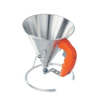 De Buyer Entonnoir à piston orange De Buyer