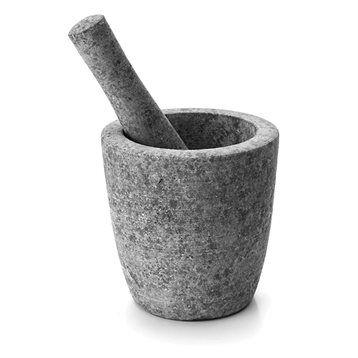 Mortier et pilon en granit