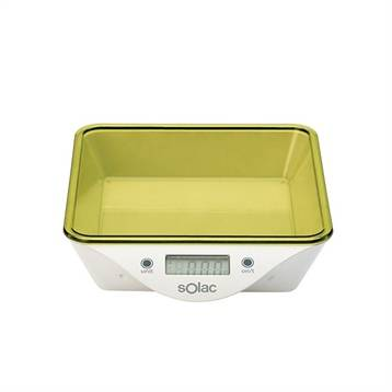 White and brown Balance de cuisine 2 bols 5 kg White and brown
