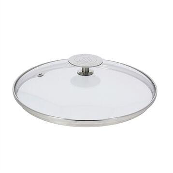 De Buyer Couvercle en verre cerclé inox 18 cm De Buyer