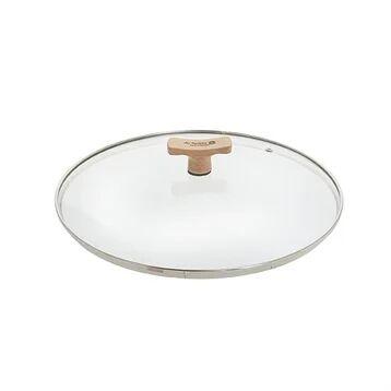 De Buyer Couvercle verre 32 cm bouton bois de hêtre De Buyer