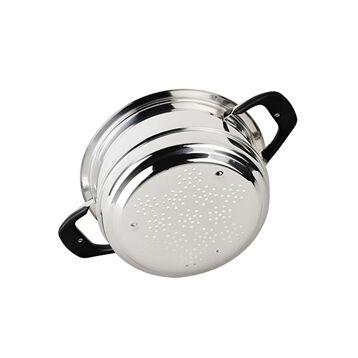 Ecovitam Insert cuit vapeur inox 24 cm Ecovitam