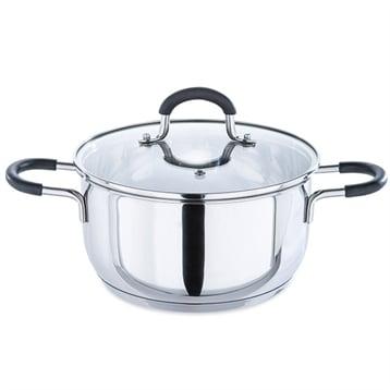 Mathon Faitout inox Rapid Cook avec couvercle 20 cm 3,1 L Mathon