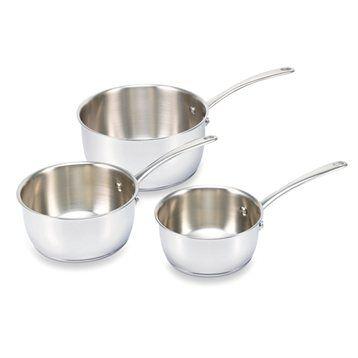 Beka 3 casseroles de 16 à 20 cm Belvia Beka