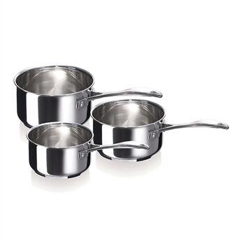 Beka Set de 3 casseroles Chef 16, 18 et 20 cm Beka
