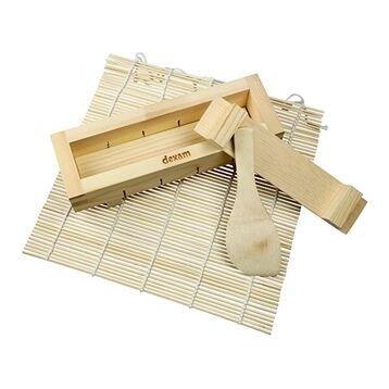 Dexam Set à sushis bambou 4 pièces Dexam