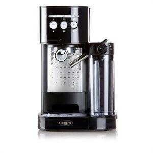 Domo Machine à expresso latte et cappuccino noire B400 Domo - Publicité