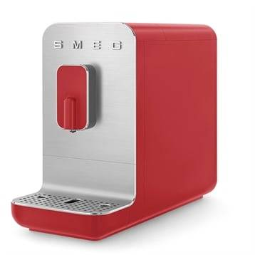 Smeg Machine à café avec broyeur 1350 W BCC01RDMEU rouge Smeg