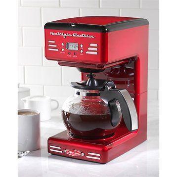 Simeo Cafetière filtre programmable 1,2 L Retro Series FD300 Simeo