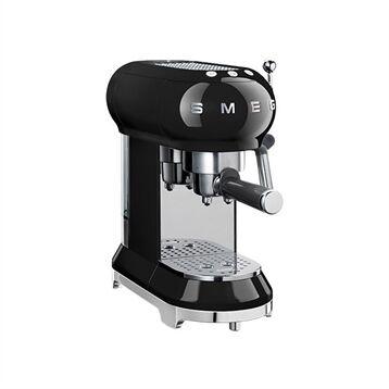 Smeg Machine à café expresso noir 1 L 1350 W ECF01BLEU Smeg