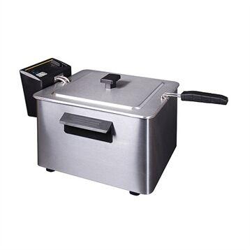 Friteuse électrique inox 8 L 3000 W 26037