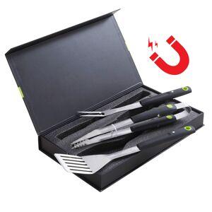 Cook'in Garden - Coffret de 3 accessoires aimantés pour barbecue - Publicité