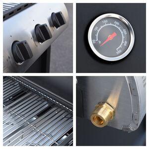 Happy Garden Barbecue au gaz HAWAÏ - 3 brûleurs 8,4kW - Publicité