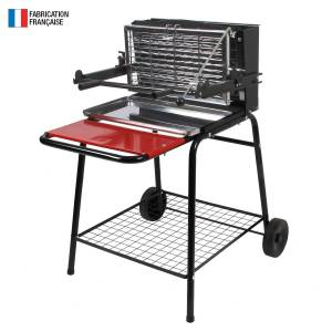SOMAGIC - Barbecue au charbon de bois à foyer vertical RAYMOND - Publicité
