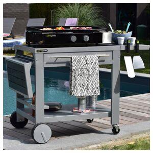 Cook'in Garden - Plancha au gaz FINESTA 2B - 2 brûleurs 5kW - Publicité