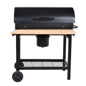 Happy Garden Barbecue au charbon de bois à cuve cylindrique PASADENA - Publicité