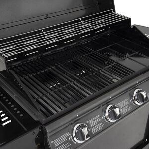 Happy Garden Barbecue au gaz RENO - 4 brûleurs avec thermomètre 14kW - Publicité