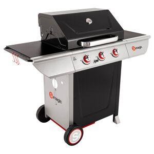 SOMAGIC - Barbecue au gaz MANHATTAN 300S - 3 brûleurs 10,5kW - Publicité