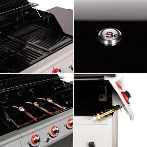 SOMAGIC - Barbecue au gaz MANHATTAN 400GP - 4 brûleurs 14kW - Publicité