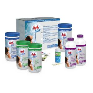 Happy Garden Kit de traitement au brome pour spa gonflable - Publicité